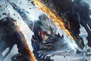 Raiden is back, and players can take him for a spin in a demo shortly. Photo / Supplied
