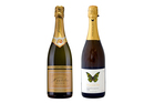 The Nautilus Cuvee Marlborough NV Brut and 2010 Peacock Sky Methode Traditionelle. Photos / Supplied, NZ Herald