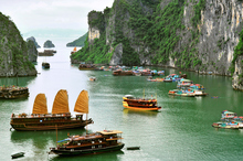 Halong Bay, Vietnam. Photo / Getty Images