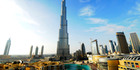 The 200-story Burj Khalifa building stands in Dubai, United Arab Emirates. Photo / Bloomberg