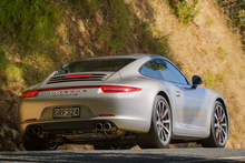 The Carrera 4S is forgiving on even our most curly roads, especially with its new ultra-wide rear end. Photo / Ted Baghurst.