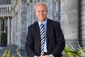 National MP Todd McClay. Photo / Mark Mitchell