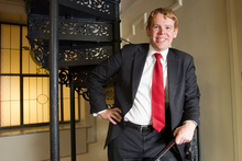Chris Hipkins hopes to unwind in the garden over summer. Photo / Mark Mitchell