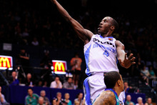 The Breakers' Cedric Jackson made a crucial steal. Photo / Getty Images 