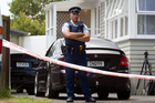 The Manurewa house where 18-year-old Shaun Townsley was fatally shot on Saturday. Photo / Richard Robinson