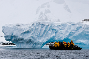 A typical 28-day trip from New Zealand to explore Antarctica costs about $20,000. Photo / Supplied