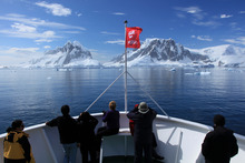Large numbers of tourists will increase pressures on sensitive Antarctic ecosystems and wildlife. Photo / Supplied