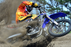Pahiatua's United States cross-country champion Paul Whibley (Yamaha) will be a star attraction at the Woodville event. Photo /Andy McGechan, BikesportNZ.com