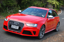 WORTHY: The Audi RS4 Avant only looks demure. Photo / NZ Herald