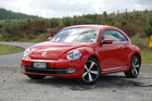 Up to date: The latest Volkswagen Beetle is more practical than its predecessor and features stronger retro looks.  Photo / Jacqui Madelin