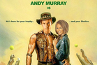 Australian Open promoters are using Dunblane's favourite son, Andy Murray, in a 'Crocodile Dundee' spoof. Image / Supplied