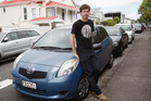 Mark Graham is down $7000 after an uninsured driver crashed into his car. Photo / Kellie Blizard