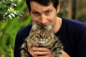 Sam Bunkall struck a deal with his family to cat-sit his crossbreed kitten, Mollie. Photo / Getty Images