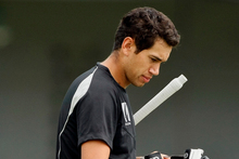 Ross Taylor is back in the nets and will return to play for Central Districts against Canterbury at McLean Park. Photo / AP
