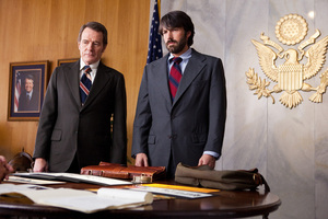 Bryan Cranston, left, as Jack O'Donnell and Ben Affleck as Tony Mendez in Argo. Photo / AP