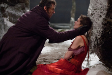 Hugh Jackman and Anne Hathaway in Les Miserables, one of the British films expected to do well. Photo / AP