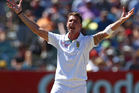 Dale Steyn is ranked No 1 in the world. Photo / AP