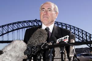 Former Prime Minister John Howard. Photo / AP