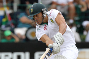 Faf du Plessis is fast becoming a key figure in the batting operation. Photo / AP