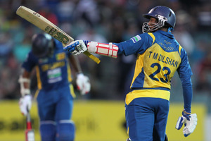 Sri Lanka's Tillakaratne Dilshan.  Photo / AP