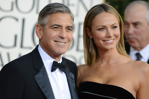 Clooney jokes about getting rid of wrinkles. Photo / AP