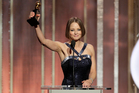 Jodie Foster, recipient of the Cecil B. Demille Award, during the 70th Annual Golden Globe Awards at the Beverly Hilton Hotel. Photo / AP