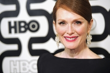 Golden Globe Award winner, Julianne Moore, talks wrinkles. Photo / AP