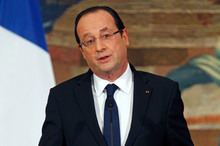 President Francois Hollande's image was radically reshaped by the West African intervention. Photo / AP