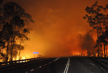Bushfires and droughts have failed to shake Australians' belief that they inhabit the lucky country. Photo / AP