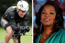 Oprah is loved and welcome in many homes, and Lance Armstrong has done his homework., says Rattue. Photo / File