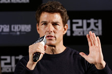 Tom Cruise. Photo / AP