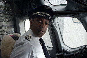 Denzel Washington has been nominated for an Academy Award for  Flight . Photo / AP
