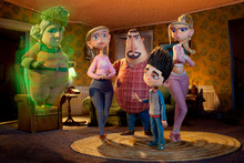 Norman and his eclectic band of sidekicks save the day in ParaNorman. Photo / Supplied