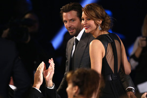 Bradley Cooper has denied rumours that he is dating Jennifer Lawrence. Photo / AP