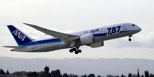 Air New Zealand has ordered 10 of the 787-9s and is still confident it will have three of them by the end of next year. Photo / AP