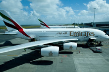 Emirates and Qantas have been allowed by Australian competitor regulators to start preparing for an alliance - but not on the Tasman. Photo / NZ Herald