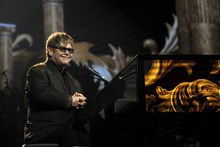 Elton John welcomes new baby into his family. Photo / HOS