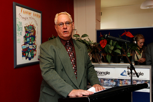 Triangle TV CEO, Jim Blackman.  Photo / NZ Herald