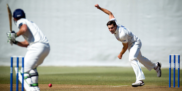 Young fast bowler says plan is needed when bowling in South Africa because batsmen there are so good. Photo / Dean Purcell