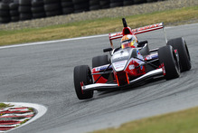 Toyota Racing Series champion Nick Cassidy at practice at Teretonga. Photo / Supplied.