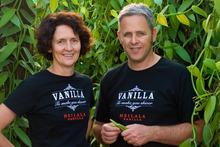 Jennifer and Garth Boggiss, of Heilala Vanilla, Te Puna. Photo / Supplied