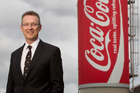 George Adams, managing director of Coca-Cola Amatil in New Zealand. Photo / NZ Herald.