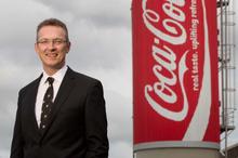 George Adams, managing director of Coca-Cola Amatil in New Zealand. Photo / NZ Herald.