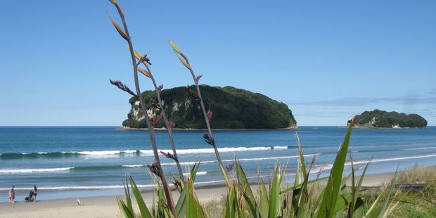 Whangamata has cemented itself as the top summer holiday spot for the fifth year running. Photo / Brian Pittams