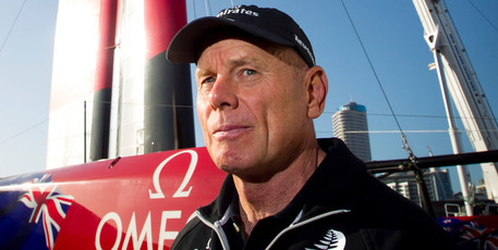 Grant Dalton says it's just the financial reality of America's Cup sailing. Photo / NZ Herald