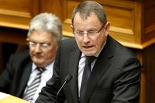 Associate Education Minister John Banks. Photo / Mark Mitchell