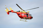The Westpac Rescue Helicopter. Photo / Doug Sherring 