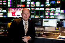 Ross Dagan and TVNZ insist he was happy in the job and is leaving for family reasons.  Photo / Dean Purcell