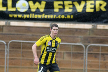 Wellington Phoenix's Tony Lochhead. File photo / Mark McKeown 