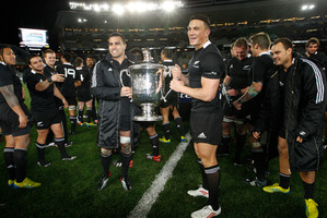 Openly gay All Blacks would be unlikely to threaten current sponsorship from companies, says Lee. Photo / Richard Robinson